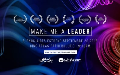"Se viene el estreno del documental ""Make Me A leader"""