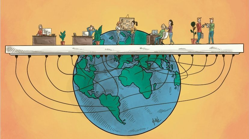 Ágil y sin fronteras: así será el futuro del trabajo