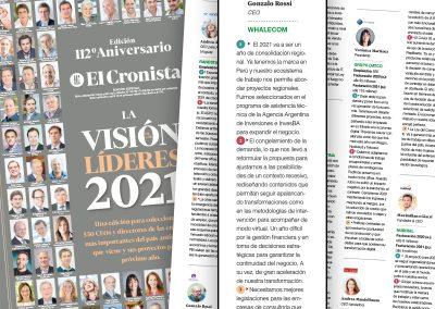 El Cronista – La visión de los líderes