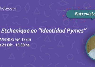 Luis Etchenique habla de las iniciativas de diversidad e inclusión en las empresas en Identidad Pyme
