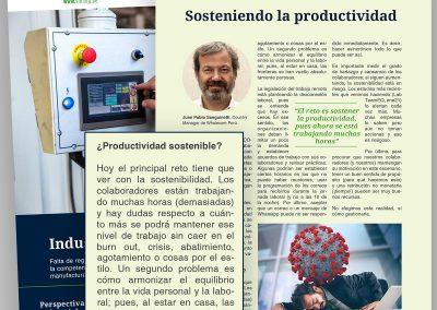Sosteniendo la productividad